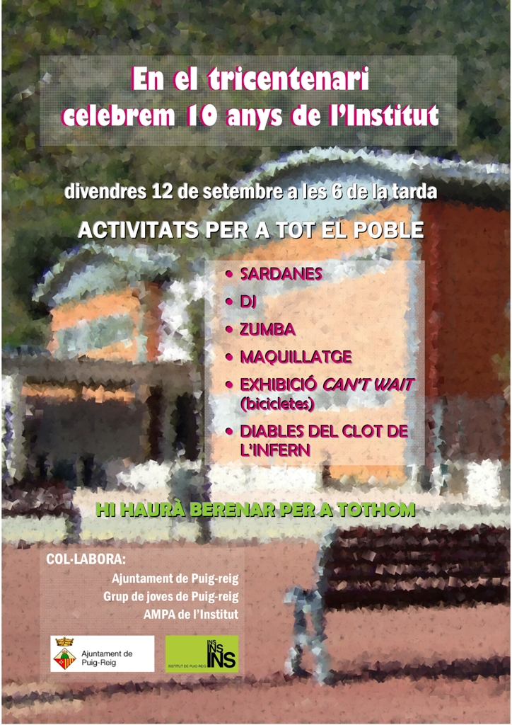 Cartell 10 anys